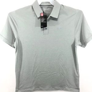 NWT Under Armour Mens Loose Fit Polo Shirt Size L